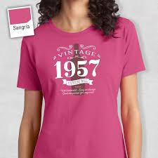 60 year birthday ideas 1957 birthday 60th birthday women s crew neck 60th birthday