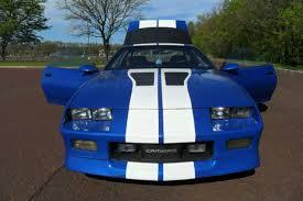 88 camaro iroc z for sale chevrolet camaro coupe 1988 blue for sale 1g1fp21e5jl147743 1988