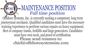 Maintenance Position Resume Classifieds Kucb