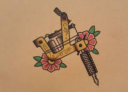 how to draw an old tattoo machine by thebrokenpuppet youtube