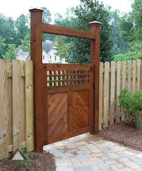 Best  Wooden Garden Gate Ideas On Pinterest Metal Garden - Backyard gate designs