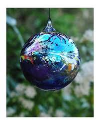 glass hanging friendship balls decorative gazing blown ornaments
