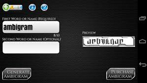 Ambigram Maker Free Ambigram Generator Apps On Play