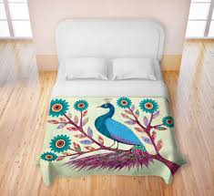 Peacock Feather Comforter Set Peacock Feather Bedding Peacock Bedding For A Luxury U2013 All