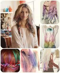 rainbow color hair ideas rainbow colored ombre hair archives vpfashion vpfashion