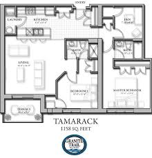 Tamarack Floor Plans by Granite Trail Suite Layouts