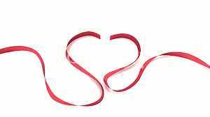 heart ribbon heart ribbon 01 royalty free and stock footage