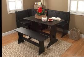 kmart furniture kitchen 3 pc nook dining set black