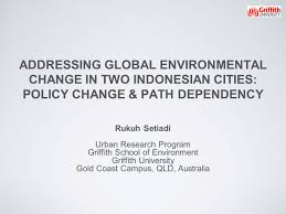 addressing global environmental change in two indonesian cities