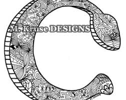 zentangle coloring etsy