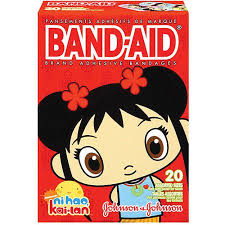 band aid brand ni hao kai lan decorated adhesive bandages 20ct