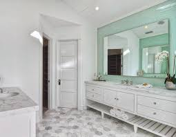 White Marble Bathroom Home Living Room Ideas