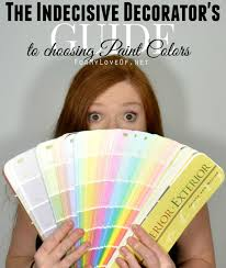 How To Choose A Color by How To Choose A Paint Color For The Indecisive Decorator Http