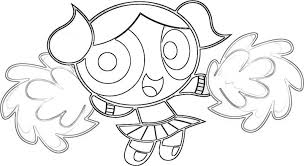 Powerpuff Girls Bubbles Coloring Pages Getcoloringpages Com Power Puff Coloring Page