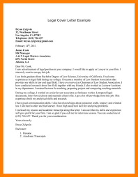 legal cover letter template image collections letter samples format