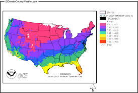 temperature map usa january united states yearly and monthly daily minimum temperatures