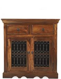 jali 3 door sheesham sideboard sheesham furniture furniture beautiful jali sheesham small sideboard cabinet design