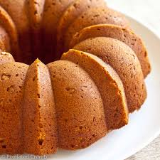 pumpkin buttermilk bundt cake pixelated crumb