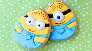 Easter Eggs Decorated With Fondant by Easter Minion Cookies How To Make Easter Egg Minion Cookies