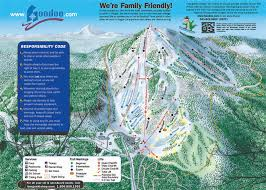 Mt Hood Trail Map Ski Resort Directory Free Shipping With 75 Minimum Purchase