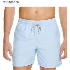 mens light blue shorts vilebrequin other mens large light blue shorts poshmark