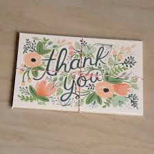 thank you postcards rifle paper co wildflower thank you postcards