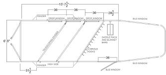 Bus Floor Plans by Horse Trailer Floor Plans