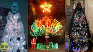 cool christmas 100 most creative and cool christmas tree ideas