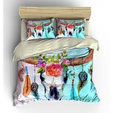 Duvet Bed Set Texas Longhorn Flower And Steer Bull Cow Skull Bedding Duvet
