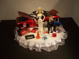 mechanic cake topper auto mechanic got the piston 1969 chevy chevelle orange