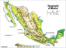 map of mexico yucatan region mexico topographic regions students britannica