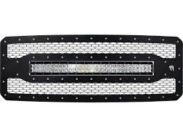 Black Led Light Bar by Buy 2011 2015 Ford Superduty Grille With Rigid 30 Inch Rds Light