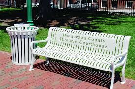 Personalized Park Bench Outdoor Furniture Integrity Furniture