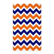 orange and white chevron rug navy blue and orange design navy