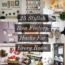 13 best le dressing ikea 25 stylish ikea fintorp hacks for every room lucky plot 13