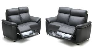 Fabric And Leather Sofa Sets Recliners Compact Three Recliner Sofa For House Furniture 3