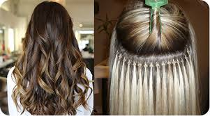 hairstyles for bead extensions micro bead hair extensions in chicago hair extensions