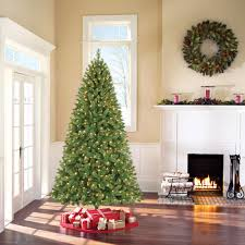 target black friday pre lit christmas tree white lights holiday time pre lit 7 5 u0027 kennedy fir artificial christmas tree