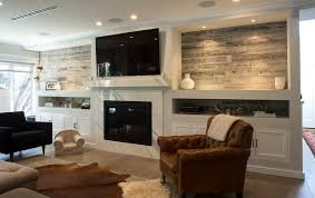 Wood Wall Living Room Diy Stikwood Wood Plank Statement Wall In Our Bedroom Hello Lovely
