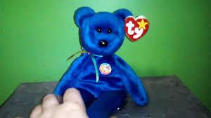 clubby bear beanie babies youtube