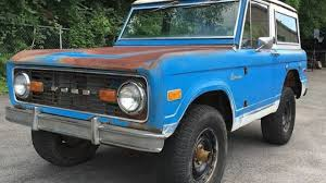 bronco jeep 2017 1974 ford bronco classics for sale classics on autotrader