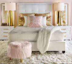 Rose Gold Bed Frame Nursery Beddings Rose Gold And White Bedding As Well As Metallic