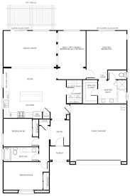 ranch style floor plans with angled garage ranch style homes lrg