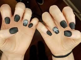 Nail Art Design Black 54 Stunningly Gorgeous Black Nail Art Designs That You Do Not Want