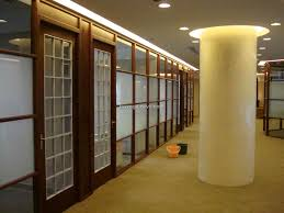 Kitchen Partition Wall Designs by Living Room Folding Frosted Glass Soft Brown Wooden Frame