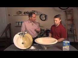 Bathroom Tile Refinishing Kit - homax tough as tile tub and sink refinishing kit youtube