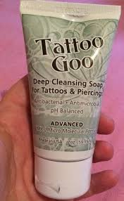 tattoo goo aftercare lotion review abbi scarlet review tattoo goo deep cleansing soap for tattoos and