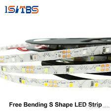 Led Strip 2835 Free Bending S Shape Led Strip Dc12v Flexible Led