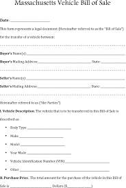 Cars Com Bill Of Sale by Car Bill Of Sale Ma Thebridgesummit Co