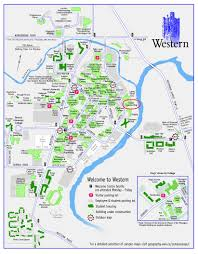 Western Michigan University Campus Map by Where Is Western College X X Us 2017